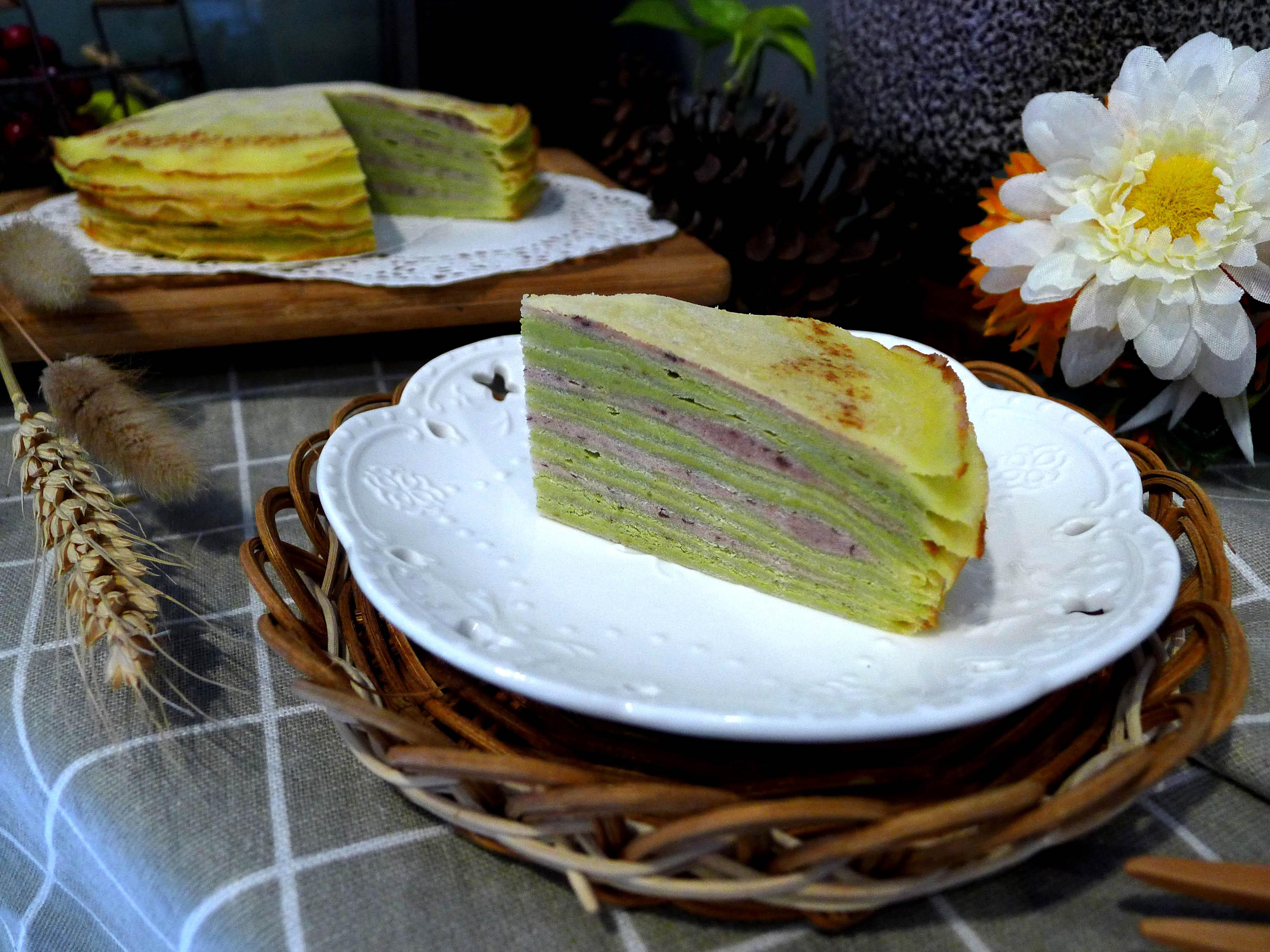 【千層蛋糕】六吋│蛋奶素│原味│巧克力│宇治金時 1