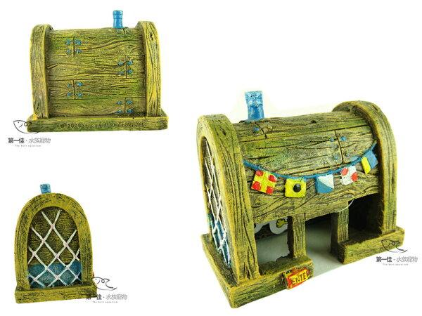 [第一佳水族寵物]美國PENNPLAX卡通飾品系列(授權販售)[蟹堡王餐廳]海綿寶寶飾品免運