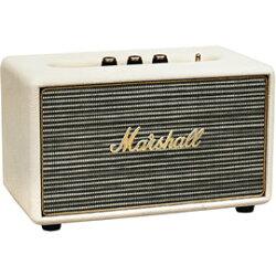 志達電子 ACTON Cream奶油白 英國搖滾經典 MARSHALL 藍芽喇叭 支援AUX 輸入