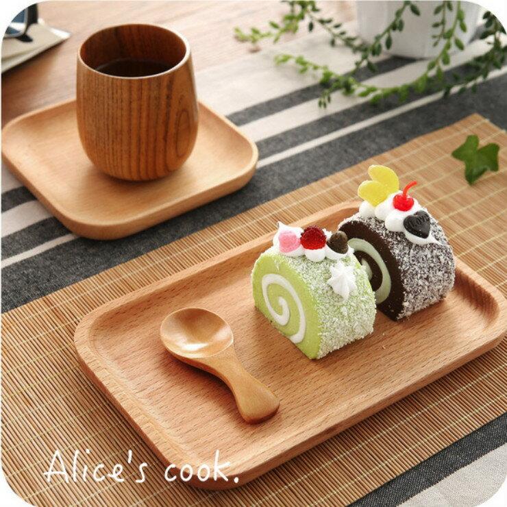 日式和風 原木點心盤 餐盤 天然木製蛋糕盤 木製器皿 兒童餐具 下午茶盤