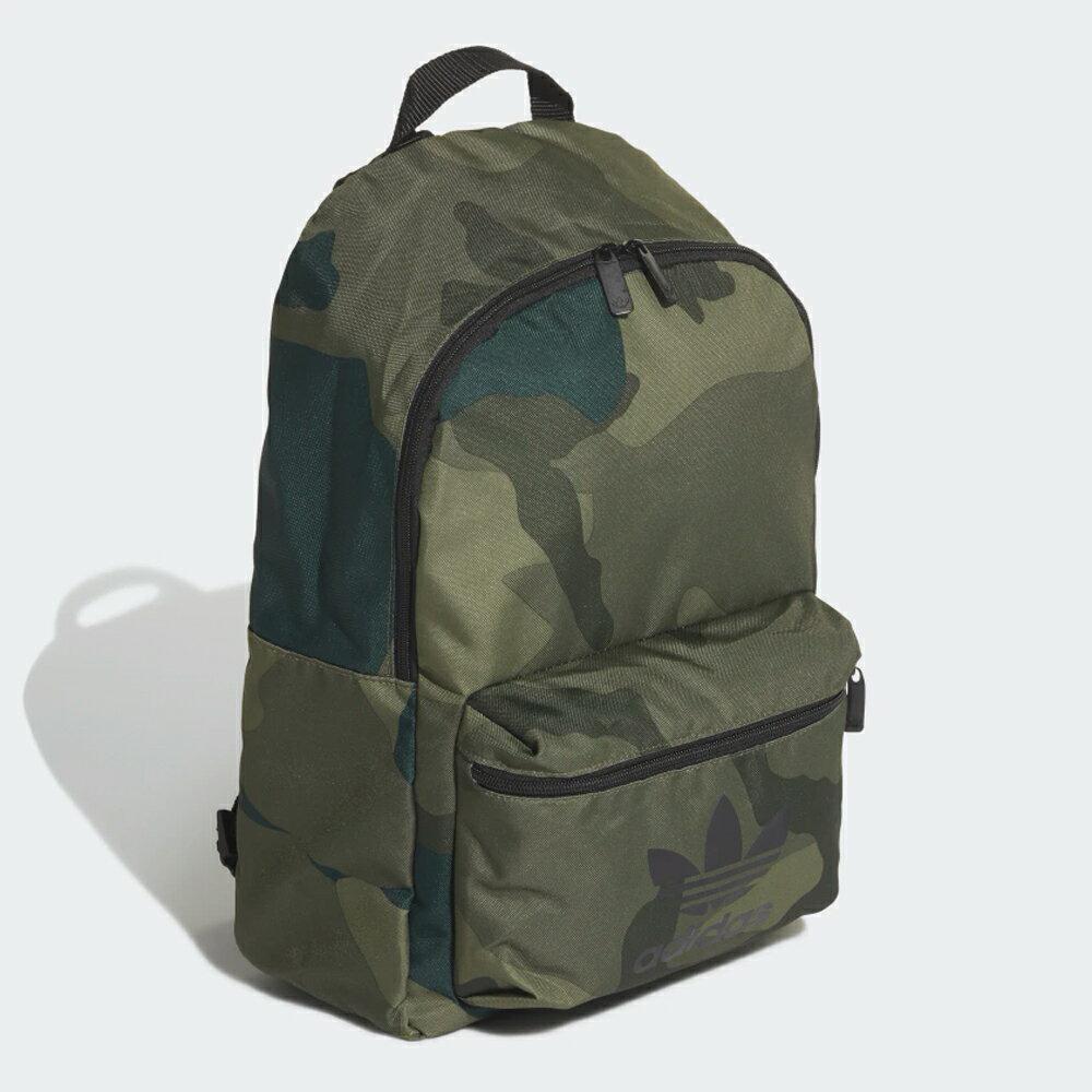 【滿額最高折318】ADIDAS CAMO CLASSIC 後背包 雙肩 迷彩 休閒 綠【運動世界】FM1349