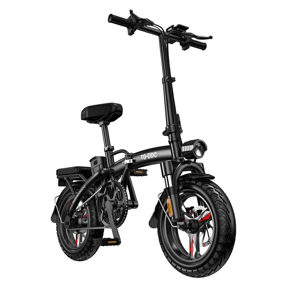 【新北現貨】【快速出貨】折疊電動車成人輕便小型可攜式代駕雙人新款電動自行車代步電單車  伊莎公主