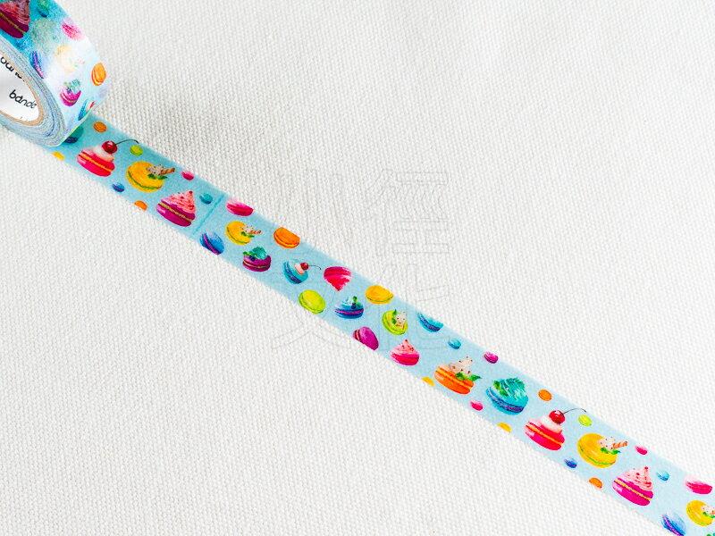 *小徑文化*日本進口 NICO Bande 和紙膠帶系列 - 馬卡龍_藍色 ( BDA 057 )