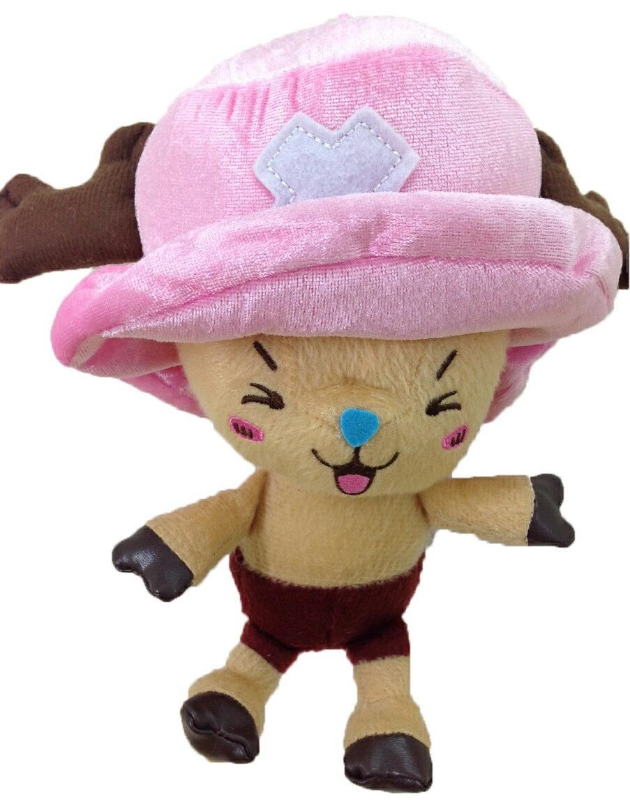 【真愛日本】15102800046 6吋喬巴-瞇眼 多尼 海賊王 喬巴 娃娃 抱枕 絨毛 吊娃 吊飾
