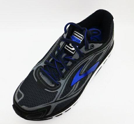 [免運+贈350元日本洗鞋酵素!]BROOKS布魯斯Dyad9男款慢跑鞋2E寬楦低足弓1102312E038(深灰x藍)[陽光樂活]