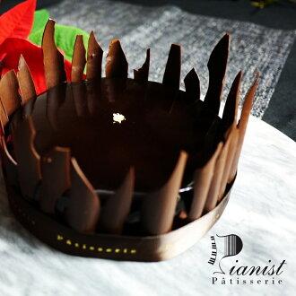 精靈之舞♪黑巧克力胡桃蛋糕6吋