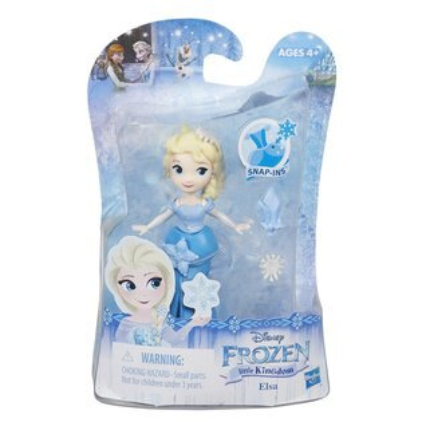 《Disney迪士尼》冰雪奇緣-迷你公主人物組-艾莎(雪皇冠)