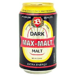 康健生機MAX-MALT醇麥卡濃黑麥汁24瓶(330ml瓶)