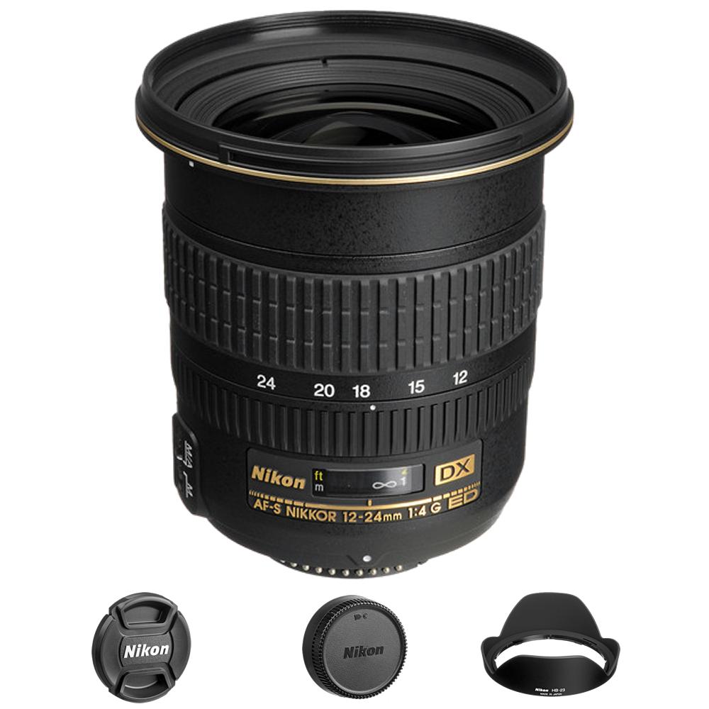 Nikon AF-S DX Zoom-NIKKOR 12-24mm f/4G IF-ED Lens International Model