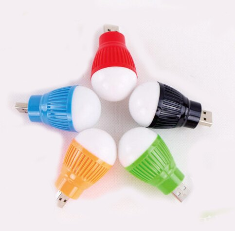 USB式LED迷你小燈泡 隨身照明 熱汽球造型