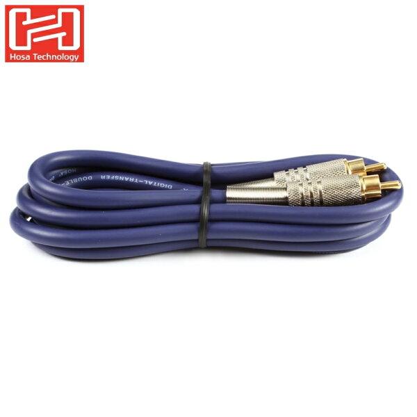 耀您館★美國Hosa音源線DRA-502將SPDIFRCA轉RCA音訊SPDIF同軸音源同軸線