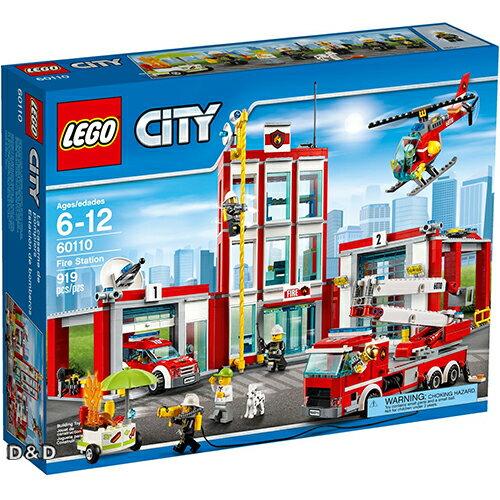 樂高積木LEGO《 LT60110 》2016 年 CITY 城市系列 - 消防局