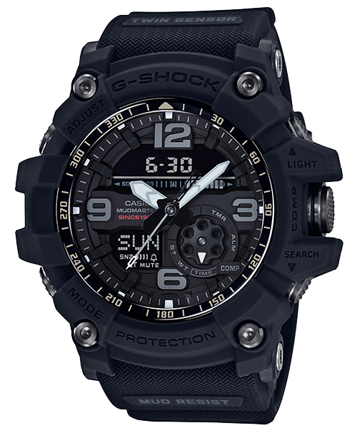 CASIO 卡西歐 GG-1035A-1A G-SHOCK 35th限量紀念錶 黑 55.3mm 0