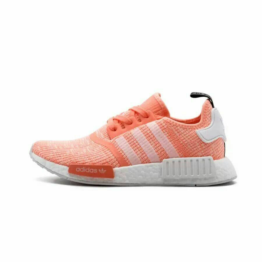 Adidas Originals NMD R1 Boost 粉橘色 女款