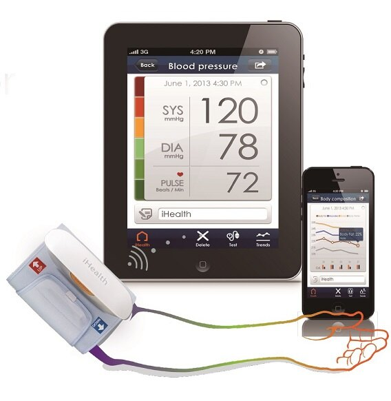 <br/><br/>  i Health智慧型無線臂式血壓計 BP5,來店享優惠<br/><br/>