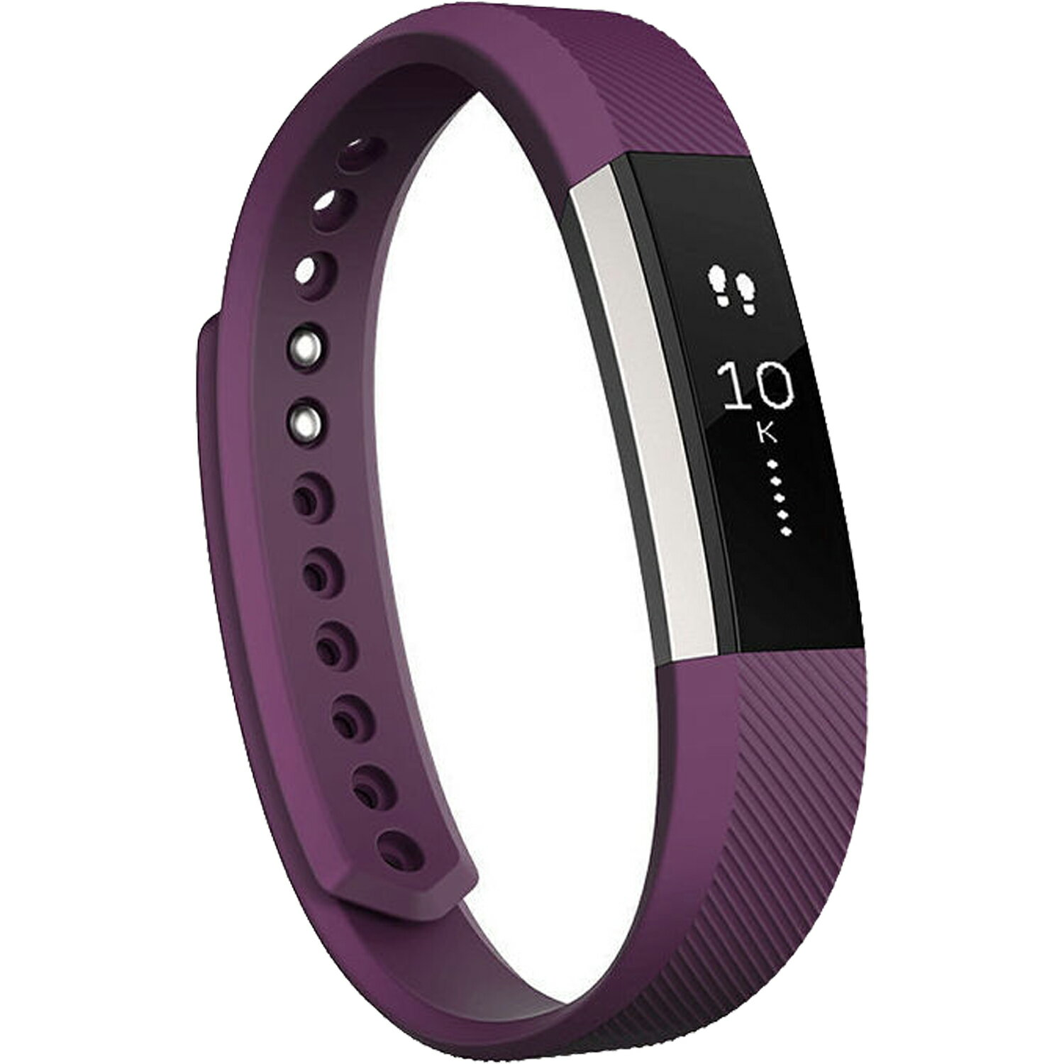 Fitbit Alta Wireless Activity Fitness Tracker and Sleep Monitor Wristband - Plum - Large 0