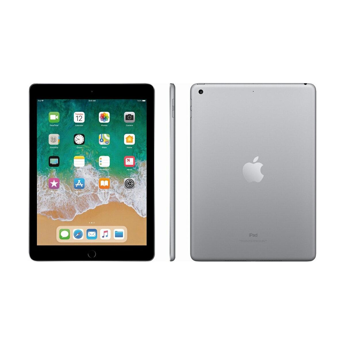 "Apple iPad 9.7"" Retina Display 32GB Wi-Fi Multi-Touch Tablet 5th Gen MP2F2LLA - Space Gray 2"