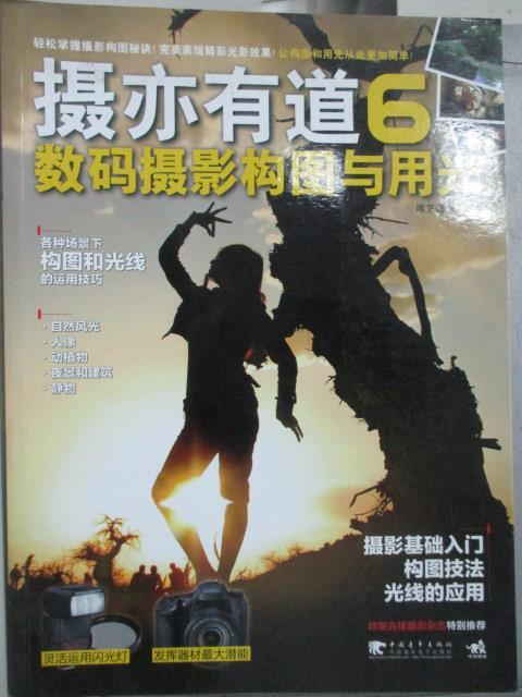 【書寶二手書T9/攝影_QIN】攝亦有道 6 數碼攝影構圖與用光_唯藝影像_簡體書