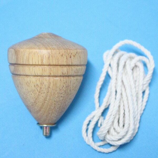 台灣製陀螺 (中)直徑約50mm 實木陀螺/一個入{定40} 彩繪陀螺 木質陀螺 童玩陀螺~美