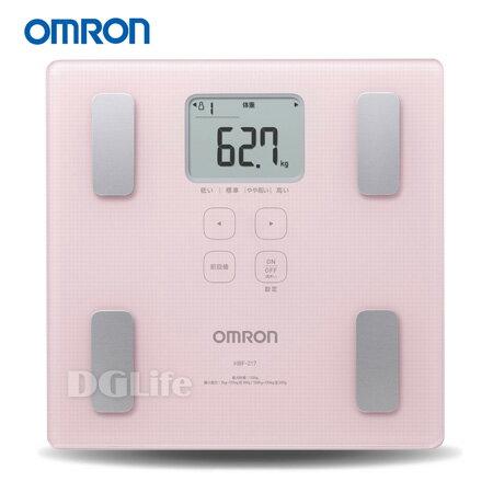 OMRON 歐姆龍 體脂計 HBF-217 粉紅色 HBF217*加贈保冷袋*