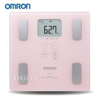 OMRON 歐姆龍 體脂計 HBF-217 粉紅色 HBF217
