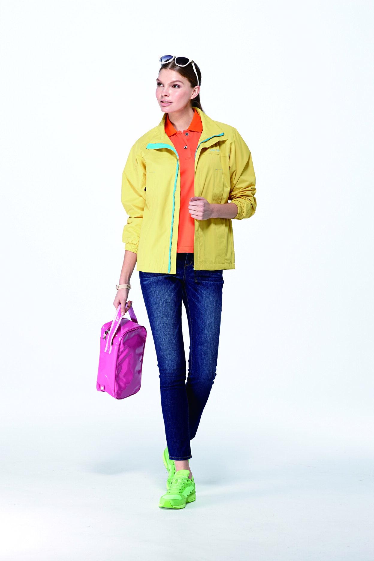 防風防潑透氣機能型風衣外套 1