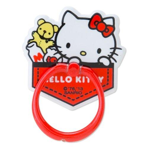 X射線【C289051】Hello Kitty 手機戒貼-紅,手機殼/手機套/智慧型手機