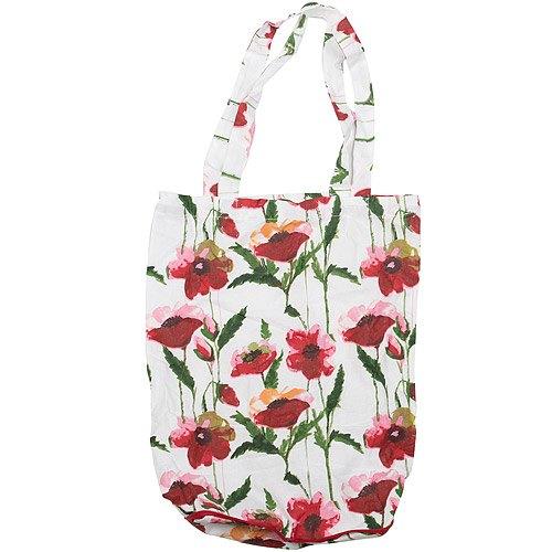 《CreativeTops》摺疊購物袋(水彩罌粟)