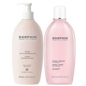 Darphin 朵法 全效舒緩潔膚乳 / 全效舒緩化妝水 二選一 500ml 限量加大