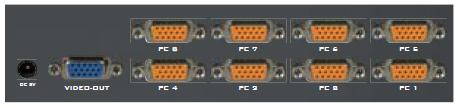 AviewS-8埠 螢幕切換器 / PSTEK VS-18 1