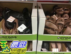 [106限時限量促銷] COSCO CROCS WOMENS SANDAL 女平底涼鞋THEA系列 美國尺寸:5-9 C110521