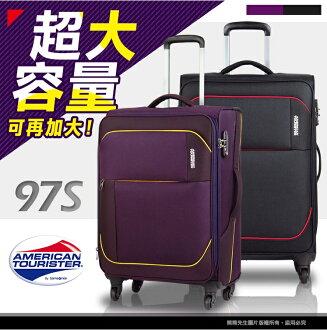 26吋行李箱 Samsonite旅行箱 97S 新秀麗美國旅行者布箱