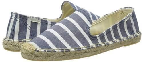 【Soludos】美國經典草編鞋-藍白條紋 2