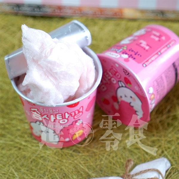 韓國 海太 Haitai 雲朵兔兔 棉花糖口香糖 15g 你看的到是棉花糖!其實吃下去是可以吹泡泡的口香糖!【特價】§異國精品§