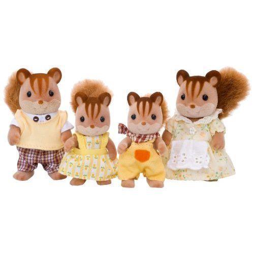 【 EPOCH 】森林家族 - 紅松鼠家庭組 - 限時優惠好康折扣