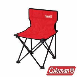 Coleman 吸震摺椅/紅/CM-26845