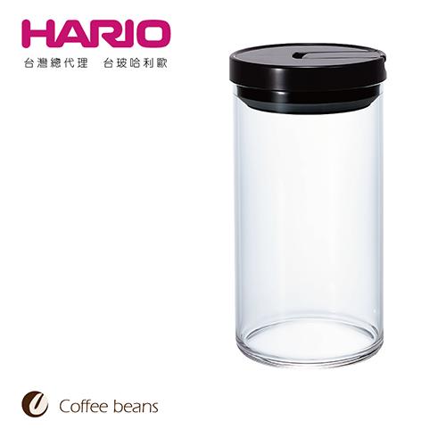 【HARIO】咖啡保鮮罐黑色L / MCN-300B