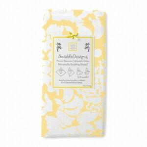 美國【Swaddle Designs】薄棉羅紗多用途嬰兒包巾 (繁花黃) - 限時優惠好康折扣