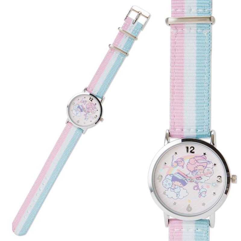 【真愛日本】4901610039878 專題限定手錶-TS啦啦隊加ACC 雙子星 kikilala 手錶