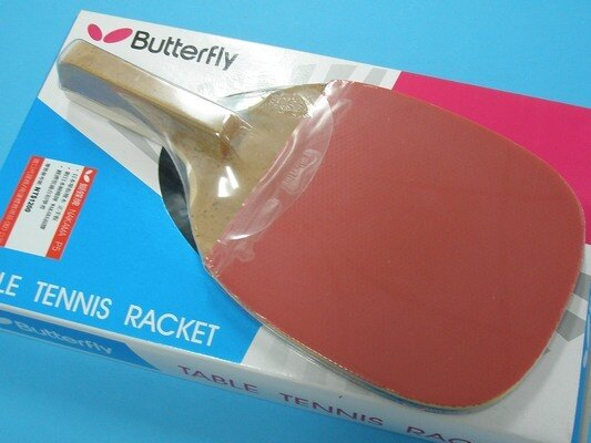 Butterfly蝴蝶牌桌球拍 NAKAMA桌拍 P5單板檜木(正手拍)/一支入{特1200}