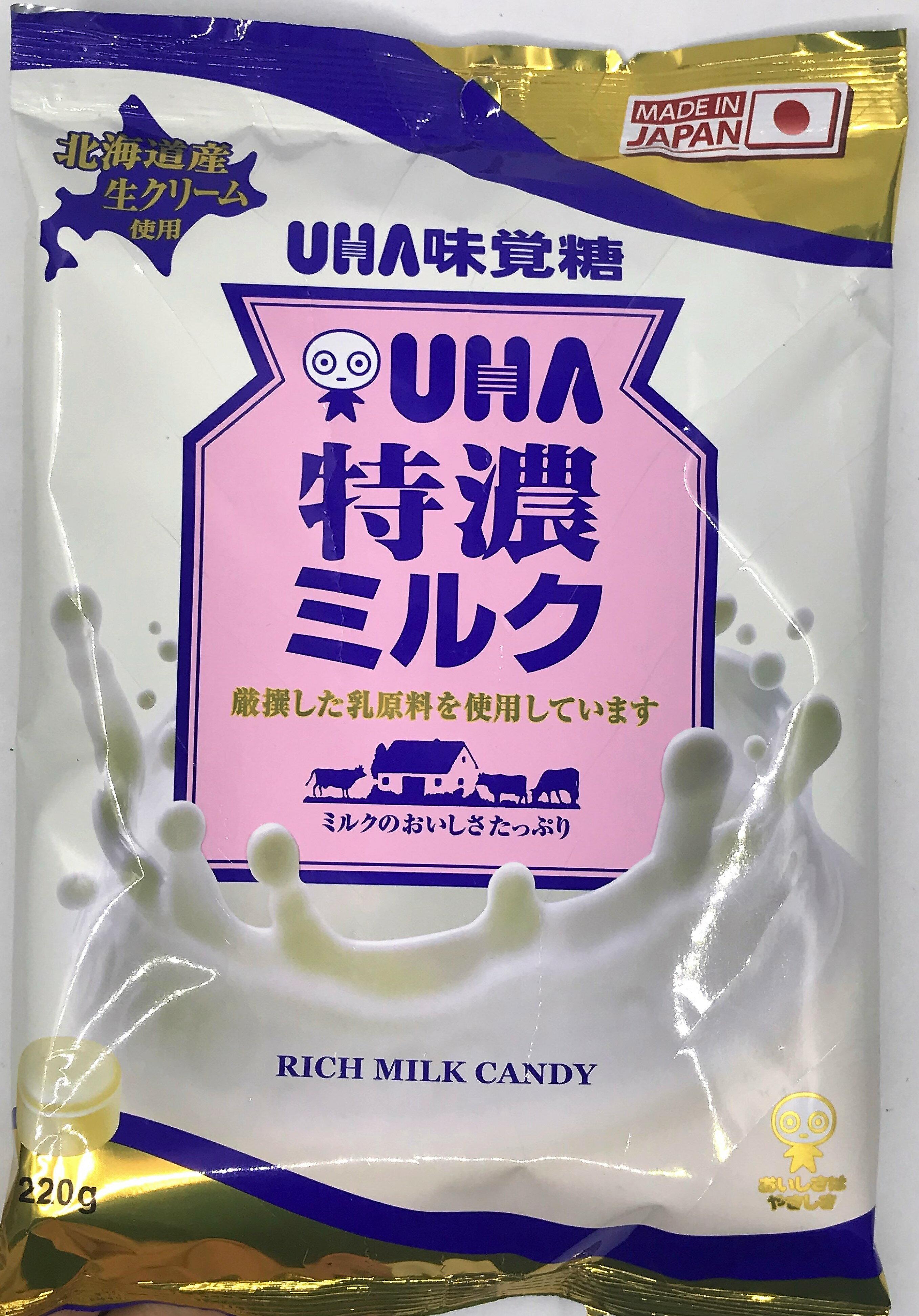 [哈日小丸子]味覺糖特濃8.2牛奶糖(大袋/220g)