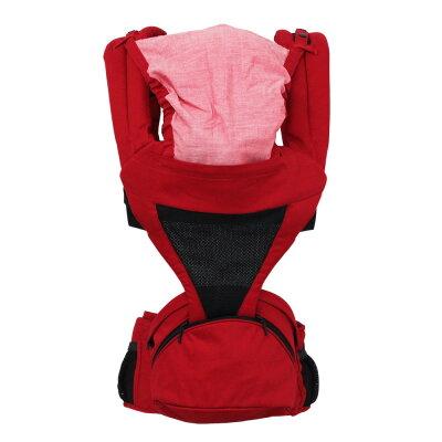 日本 LUCKY POLBAN 腰凳背帶-紅