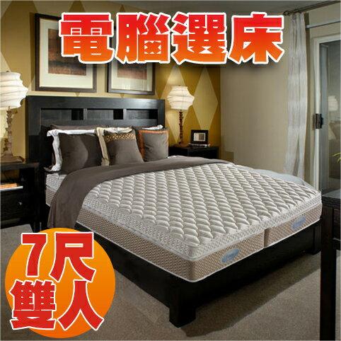 睡眠達人:【睡眠達人SL0099】獨立筒床墊,比利時乳膠+HR超彈力綿,兩側不同硬度,6x7尺雙人床墊,MIT