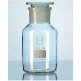 《實驗室耗材專賣》德製DURAN SCHOTT 玻璃廣口瓶(白色) 50ML 磨砂24 / 20 實驗儀器 試藥瓶 玻璃儲存瓶 0