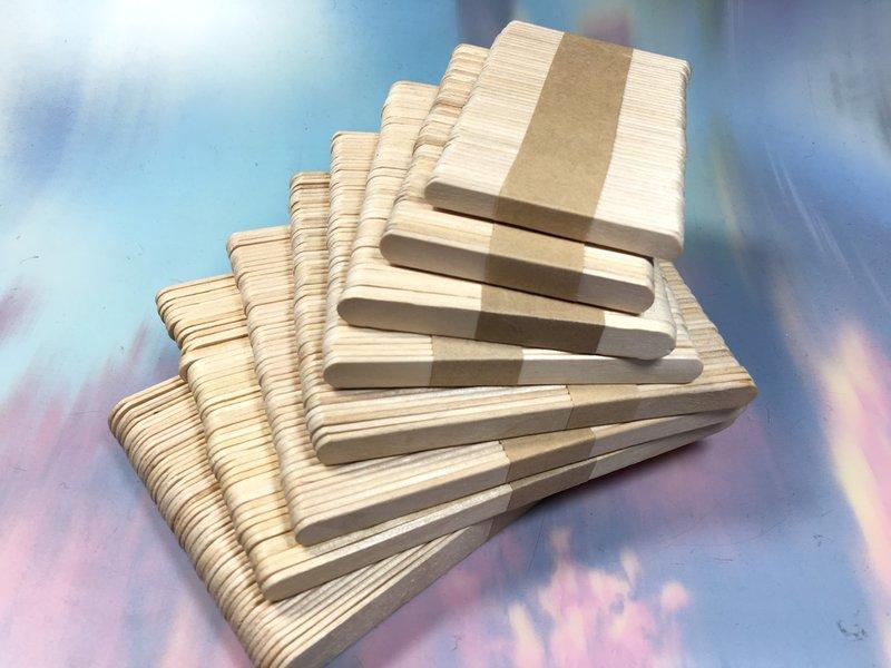 【八八八】e網購~【冰棒棍140*10*2MM】模型木片拼裝木棒木條碎冰棍幼教材料房子模型材料攪拌棒 0