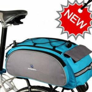 美麗大街【ML14541】山地自行車多用後貨架包車尾包騎行裝備獨特單肩包
