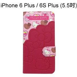 Hello Kitty 拼接皮套 [甜點] iPhone 6 Plus / 6S Plus (5.5吋)【三麗鷗正版授權】