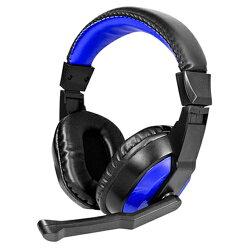 KINYO頭戴式立體聲耳機麥克風EM-3653【愛買】