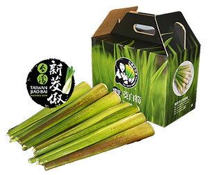 嚴選優質南投埔里#生鮮茭白筍優質禮盒組3kg裝#買就送精緻100g即食包口味任選!