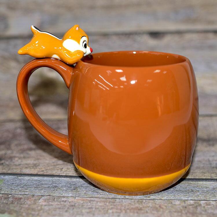 花粟鼠 蒂蒂 Dale在馬克杯上 陶瓷馬克杯 日本正版 260ml